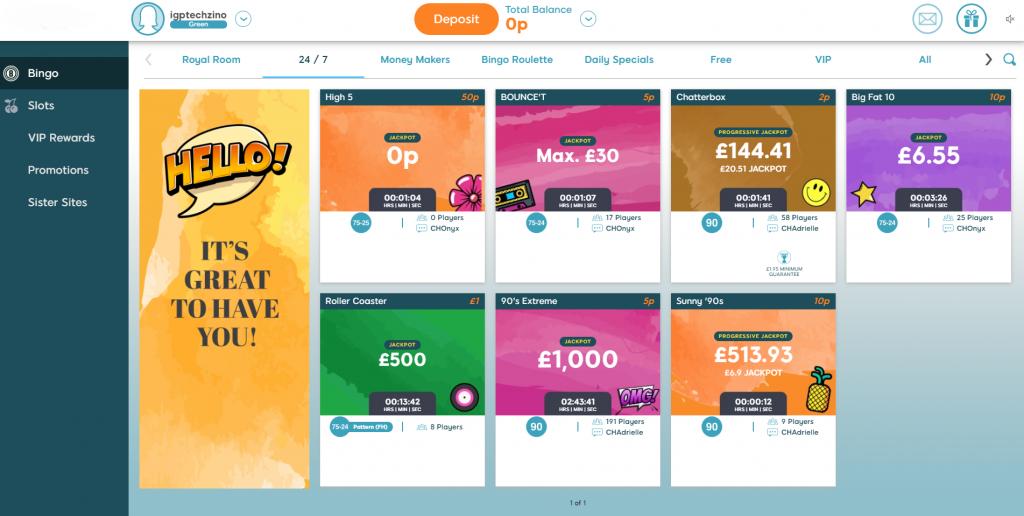 Online Bingo Rooms - Bingo Guide Online