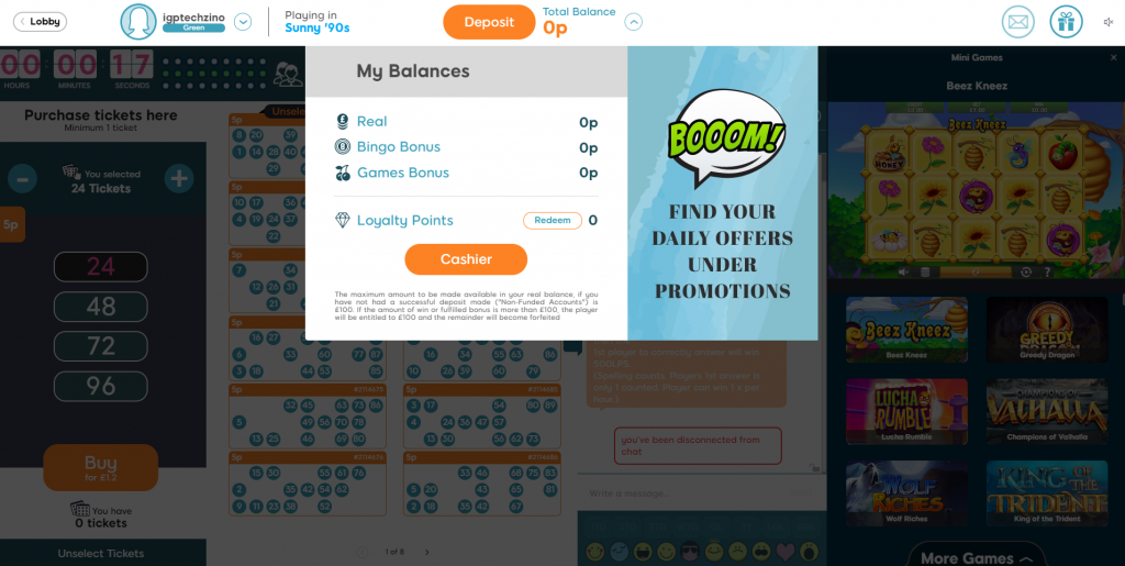 Making a Bingo Deposit - UK Bingo Guide