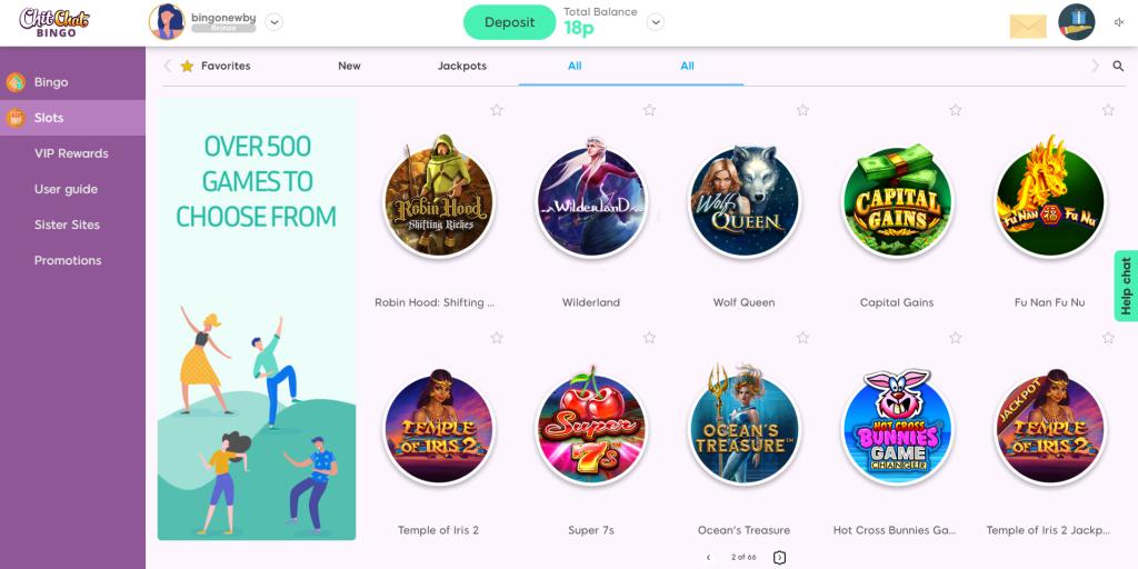 Online Slots Lobby
